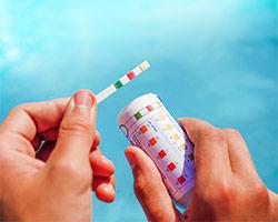 Test strip bottles and electronic test strip meter