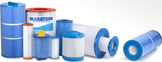 Variety of Hot Tub Filter Cartridges