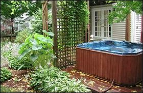 physical setup spadepot com How Make Hot Tub Lid low deck, surround seating