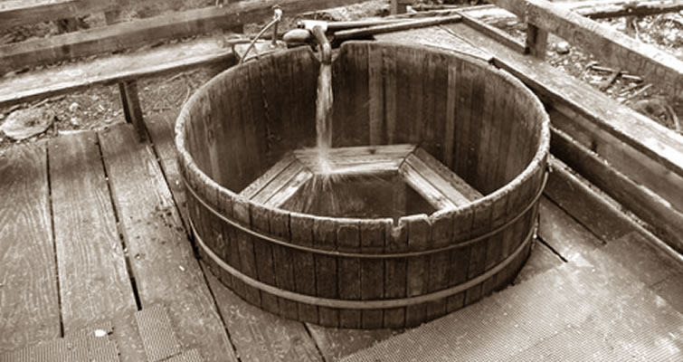 Round Wood Hot Tubs | SpaDepot.com